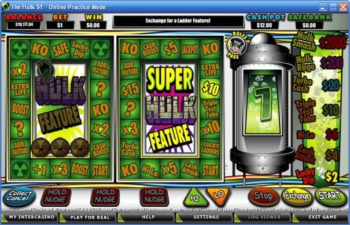 Line up fruit machine emulator